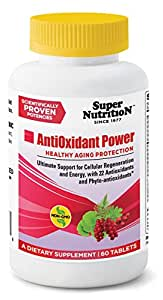 SuperNutrition Antioxidant Power Multivitamins, 60 Count