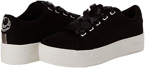 23632 Negro oliver Mujer S Para black Zapatillas 5nCw4vq0Ax