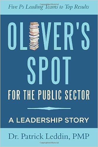Oliver's Spot for the Public Sector [2012] (Author) Ph.D., PMP, Patrick Leddin