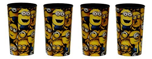 4 Pack Despicable Me Minion Drinking Cup 22 Oz