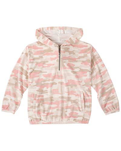 Girls' Teddy Bear Fleece Pullover Hoodie