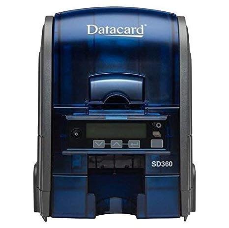 Amazon.com: DataCard SD360 doble cara tarjeta de ...