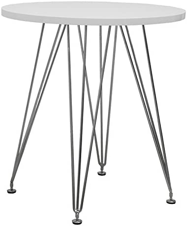 Mod Made Mid Century Modern Paris Tower Round Table Bistro Table