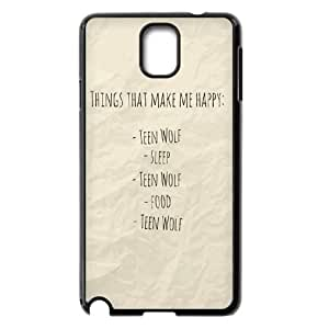 YUAHS(TM) Custom Case for Samsung Galaxy Note 3 N9000 with Teen Wolf YAS917142