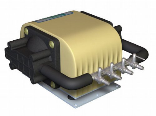 - Dual Diaphragm Air Pump