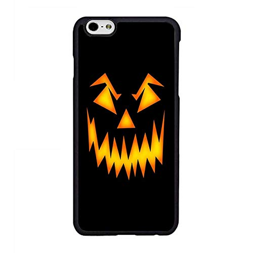 Halloween Scary Pumpkin Face Phone Case Compatible iPhone 6 6s Phone Shell -