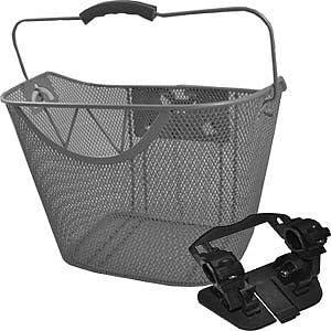 Cesta delantera para bicicleta cesta delantera para bicicleta cesta para bicicleta extraíble plata FZ1322: Amazon.es: Deportes y aire libre