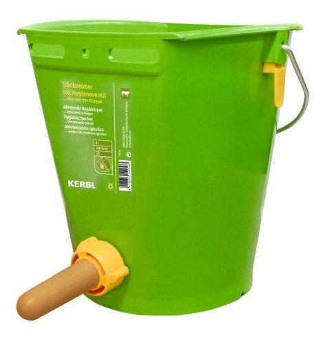 KERBL Hygienetränkeeimer mit Klapp-Ventil