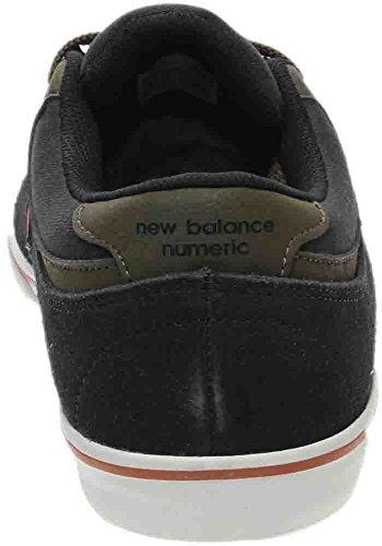 Nieuwe Balans Numerieke Quincy 254 Suede Schoenen Zwart