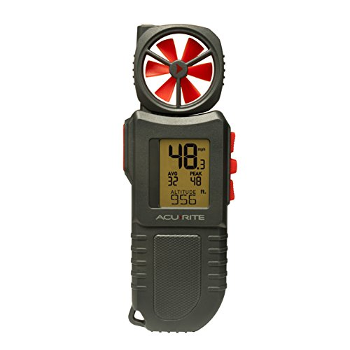 AcuRite 00256M Portable Anemometer Flashlight