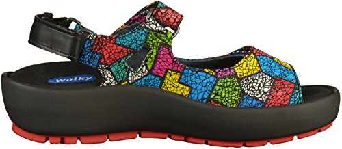 Lacets Multicolore Chaussures Winter Dive À Wolky qPRwHO1n