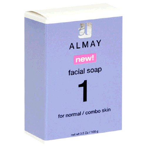 Almay Facial Soap for Normal/Combo Skin, 3.5-Ounce Package