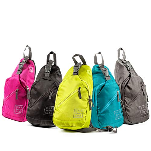 Sling Backpack for Women - Comfortable and Stylish Shoulder Backpacks with Multiple Compartments and Headphone Cord Access - Perfect Sized Crossbody Bags for Hiking, Walking, Travel, & More
