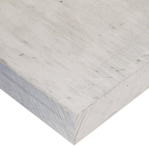 6061 Aluminum Sheet, Unpolished (Mill) Finish, T6 Temper, Meets ASTM B209, 0.125