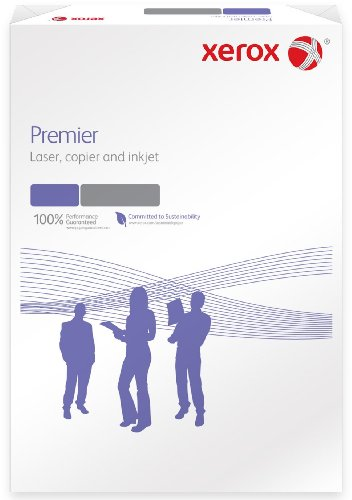 Xerox 003R91721 Premier Kopierpapier Druckerpapier Universalpapier DIN A3, 80 g/m², 500 Blatt, weiß