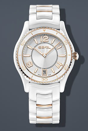 Ebel Watch X1 1216113 White Ceramic Women watch