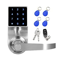 Secure Electronic Door Lock               Colosus electronic door lock completes your security system. Say goodbye to door lock keys and hello to keyless entry with digital door technology from Colosus. Create custom access co...