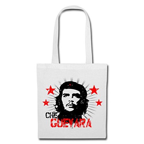 Spreadshirt Che Guevara Rote Sterne Kommunismus Stoffbeutel Weiß EZ2rwTnSP
