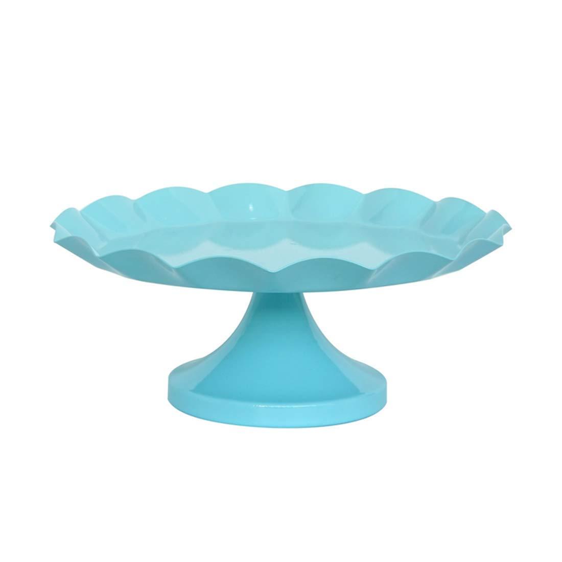 RABILTY ケーキスタンド カップケーキ デザートディスプレイスタンド パーティー ウェディング 誕生日 ブルー M RABILTY Medium  B07JQLZD6C