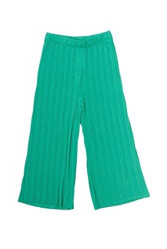 in vita verde con donna Pantalone plissé elastico moda Company ed Main largo ZzAvv7