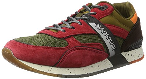 N741 Uomo Khaki Multicolore Rabari Sneaker Napapijri Brown qxAYP6wE6