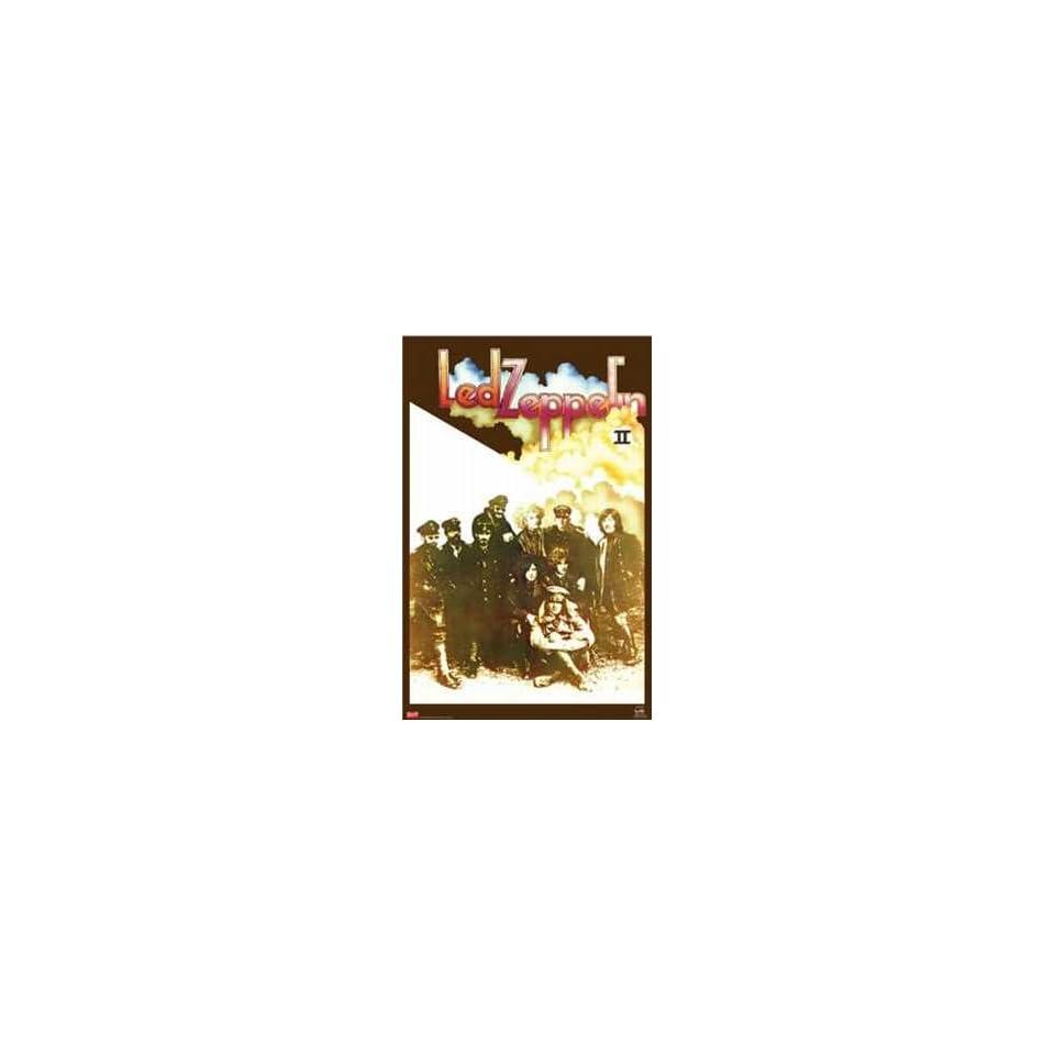 Led Zeppelin Poster II Record Album Cover