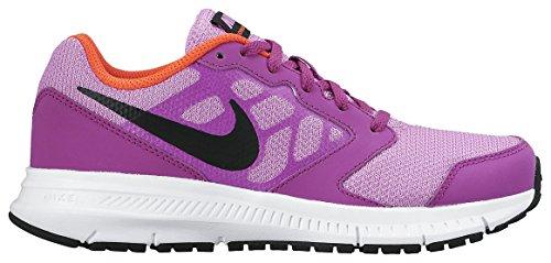 Nike Downshifter 6 (GS/PS) Scarpe Sportive, Ragazza Fucsia / Negro / Morado / Blanco