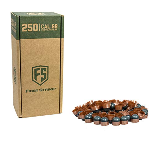 First Strike Paintballs (250 Count, Smoke/Copper Blue Fill) by First Strike