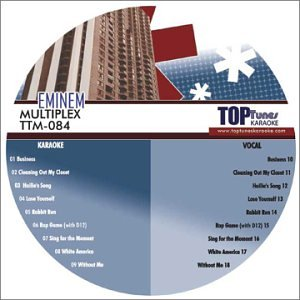 Multiplex Karaoke - Eminem Top Tunes M Series Karaoke Multiplex CDG TTM-084
