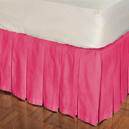 White,Round Crib Unisex Nursery Baby Bedding Round Crib Multi Pleated Skirt Solid Pattern 500 TC Egyptian Cotton