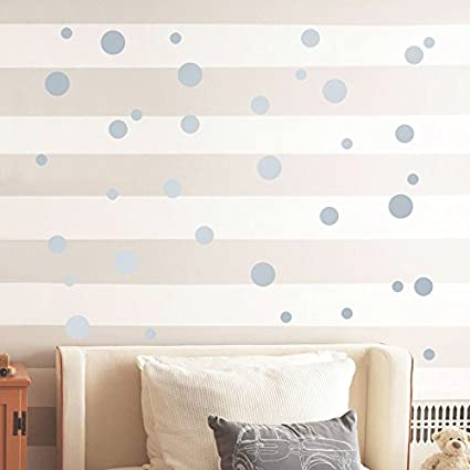 Amazon Com 252 Pcs 1 57inch 4cm Removable Polka Dots Wall