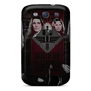 Shock Absorption Hard Phone Cover For Samsung Galaxy S3 (TSK1944mgjk) Unique Design Beautiful Bon Jovi Series