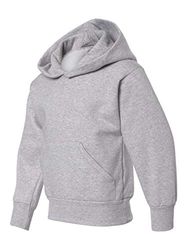 - Hanes boys Youth ComfortBlend EcoSmart Pullover Hoodie(P473)-Light Steel-M