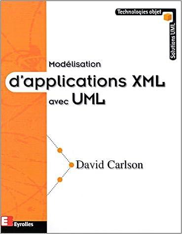 Derniers Livres Electroniques Modelisation D Applications