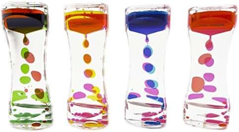 Super Z Outlet  Liquid Motion Bubbler for Sensory Play, Fidget Toy, Children Activity, Desk Top, Assorted Colors