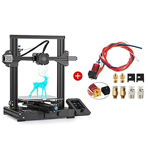 Creality Ender 3 V2 3D Printer and Creality Assembled Extruder Hotend Kit