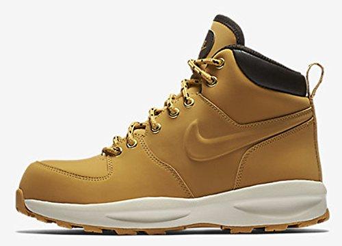 Nike Kinder Manoa 17 Leather Hellbraun Leder/Textil Stiefel Beige (Haystack/Haystack-Ve 700)