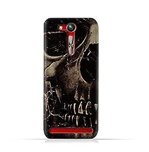 AMC Design Asus Zenfone Go ZB452KG TPU Silicone Protective Case with Dark Skeleton Pattern Design