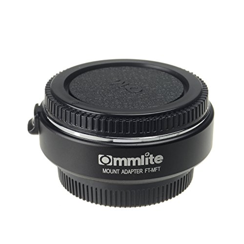Commlite Electronic Auto Focus Lens Mount Adapter Ring for 4