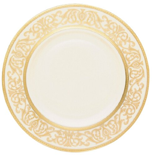 (Lenox Westchester Gold Banded Ivory China 9 Accent)