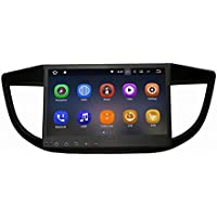 SYGAV Android 7.1.1 Nougat 2G RAM Car Stereo for 2012-2015 Honda CR-V CRV 10.2 Inch Touch Screen GPS Sat Navigation Audio FM AM Radio LCD Monitor Head Unit
