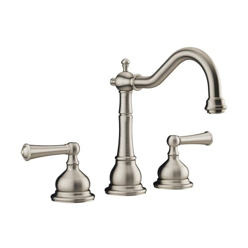 Jacuzzi MX788 Barrea Deck Mounted Roman Tub Filler, Brushed Nickel