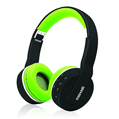 Maxell Foldable Wireless Bluetooth Soft Cushioned Headphones