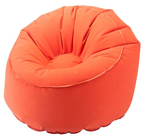 EverEarth EZAir Rangi Inflatable Chair for Kids. Beach, Camping or Bedroom, Orange