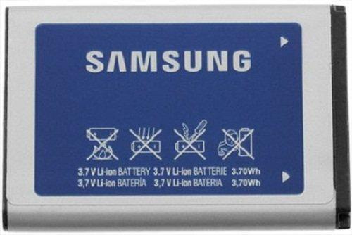 Samsung AB553446GZ/AB553446GZB/AB553446GZBSTD Lithium Ion Battery Original OEM - Non-Retail Packaging - Blue by Samsung