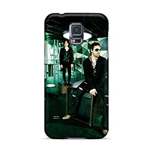 Samsung Galaxy S5 WVz3489uRGl Allow Personal Design Nice 30 Seconds To Mars Band 3STM Pattern Excellent Cell-phone Hard Covers -JamieBratt