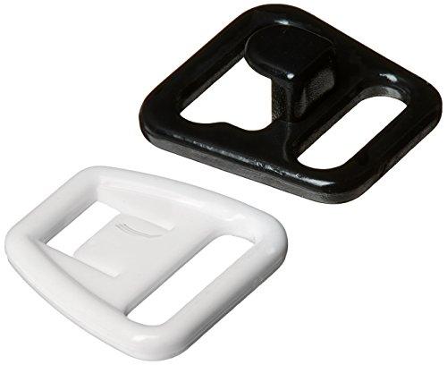 Dritz 56698-38-66 Maternity Bra Clips, 3/8-Inch, White & Black, 4 Sets