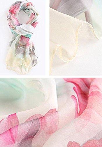 Style Mode Echarpe Couleurs D'printemps Foulard 09 Femme Imprimée 180 Plage 15 Soie Soleil Élégant All Pour Eté De 5 Et Résistant En 110cm Z1w5Axaq