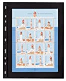 : Lighthouse OPTIMA 1S Stamp Stock Pages-10 Pages