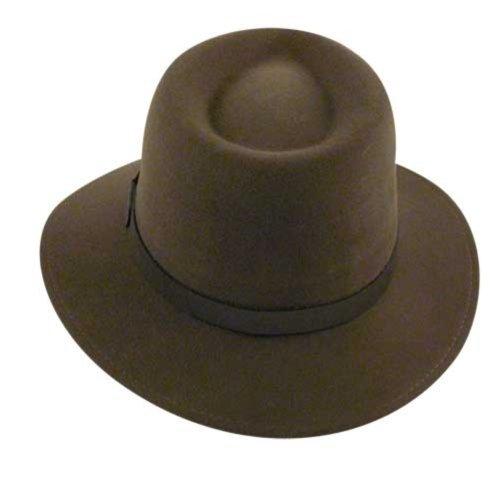 Country Gentleman Men's Dickens Fedora Hat, Khaki, XL by Country Gentleman (Image #2)